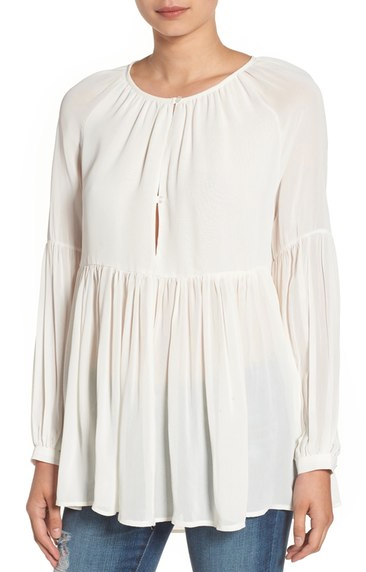 Sincerely Jules for Nordstrom peasant top