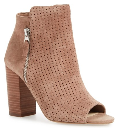 Peep Toe Booties for Fall