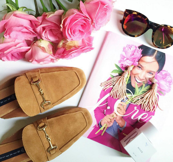 Suede mules and tassel earrings are on the top of my Fall shopping list