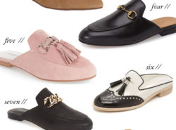 flat mules fall trend to try