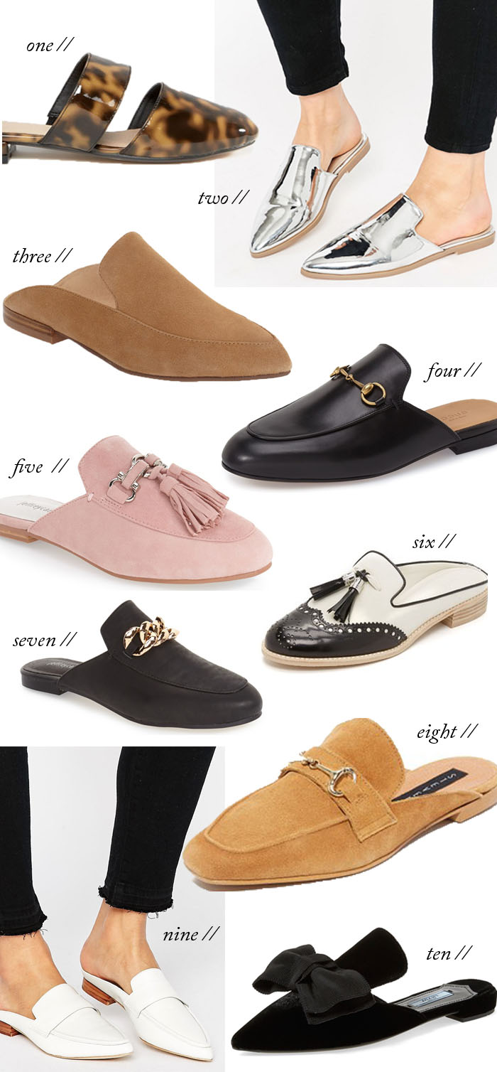 Flat Mules Trend | Fall Fashion & Style