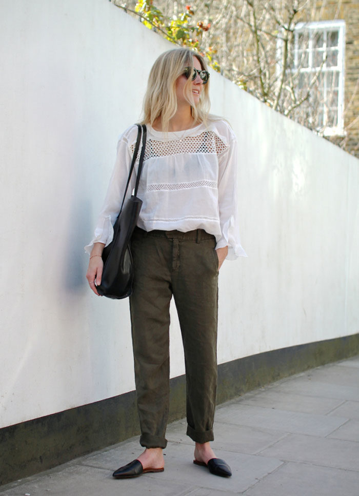 How to style flat mules for Fall!