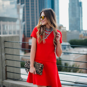 Red Swing Dress for Now + Later!