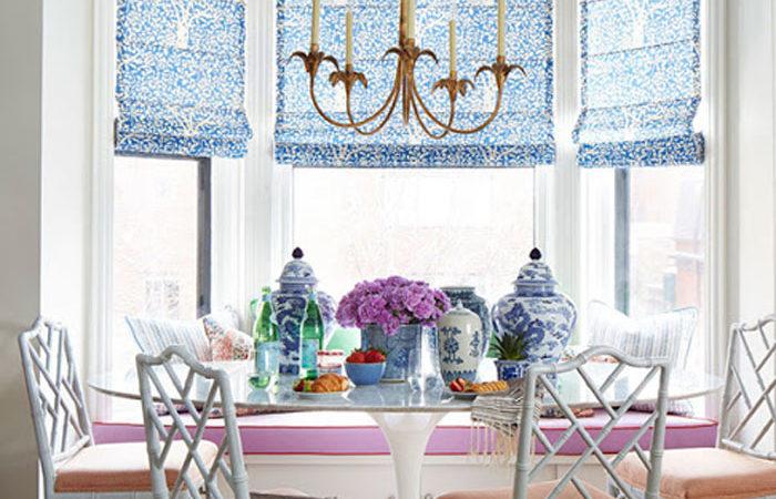 summer thornton design | chic breakfast nook