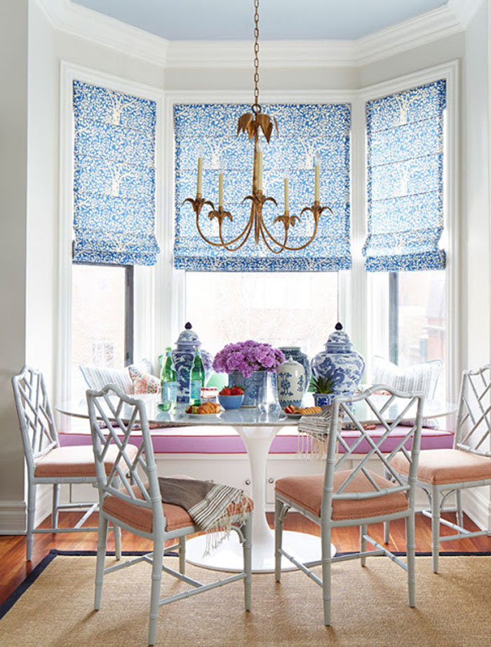 summer thornton design | chic breakfast nook