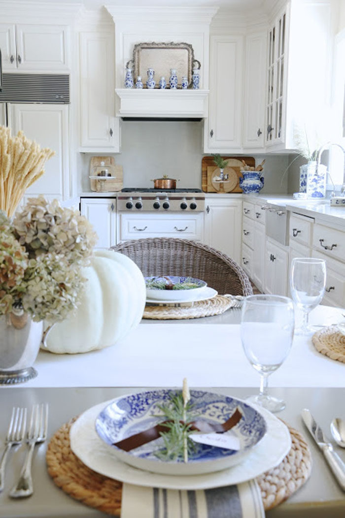Gorgeous French Country Kitchen by 11 Gables