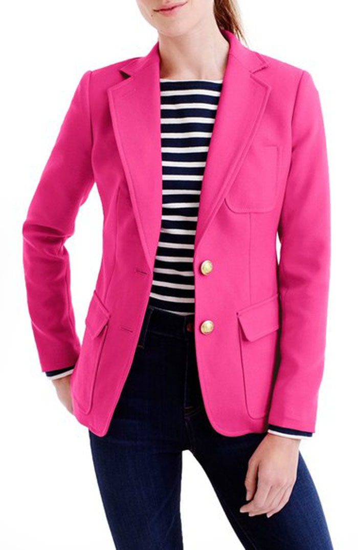 Hot Pink  Blazer by J.Crew now available at Nordstrom