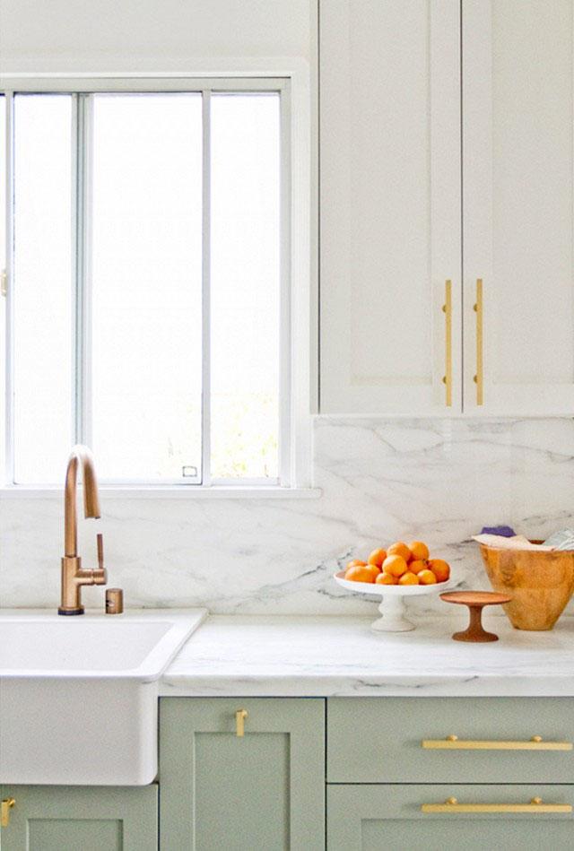 mint-green-kitchen-cabinets