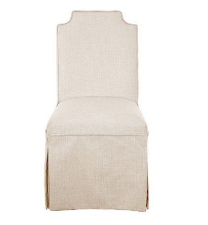 Skirted Slipper Chair by Nate Berkus at Target