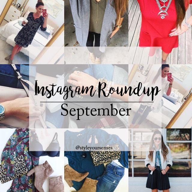 September Instagram Roundup