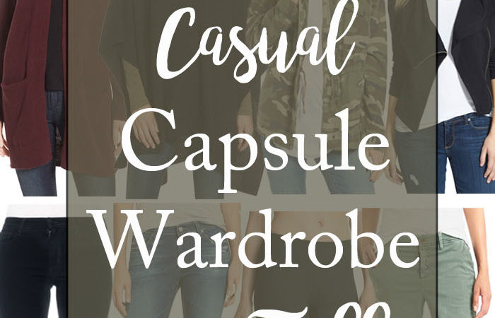 20 Piece Capsule Wardrobe for Fall