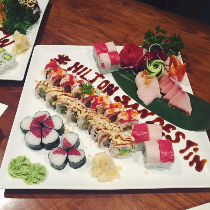 Hadashi Sushi at the Hilton Sandestin
