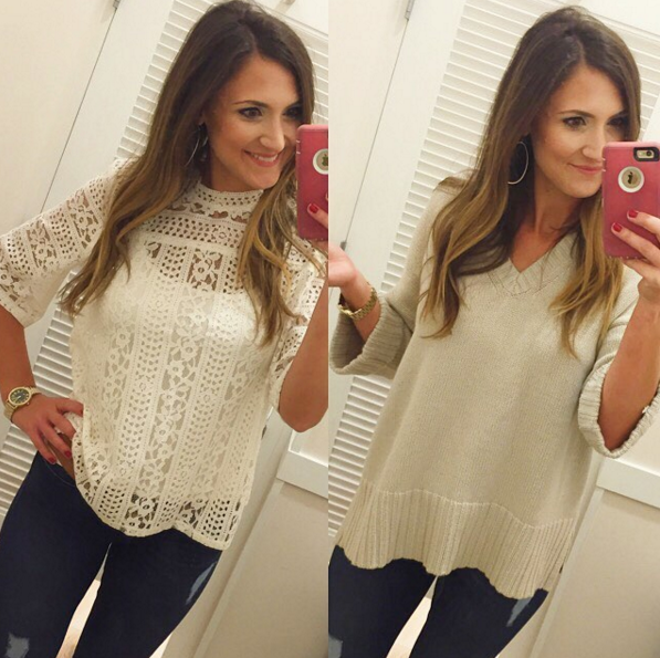 Cute Fall Tops from Loft