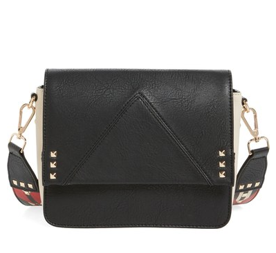 BScout Statement Strap Crossbody Bag