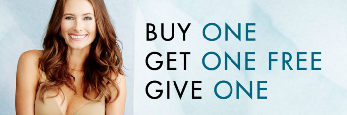 vanity fair's buy one get one give one event