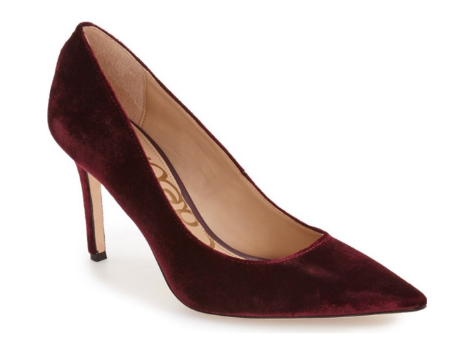 Sam Edelman Hazel pump in Sangria