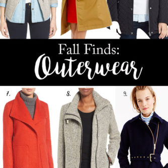 Fall Finds: Outerwear + 10 Fall Facts About Me!