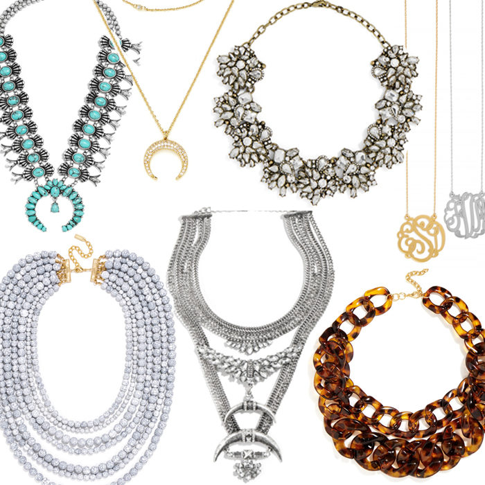Bauble Bar necklaces on major sale
