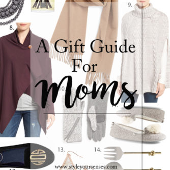 Gift Guide : Moms + Mother-in-Laws