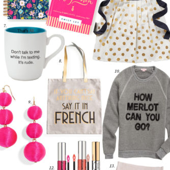 Gift Guide: for Girlfriends + a GIVEAWAY!