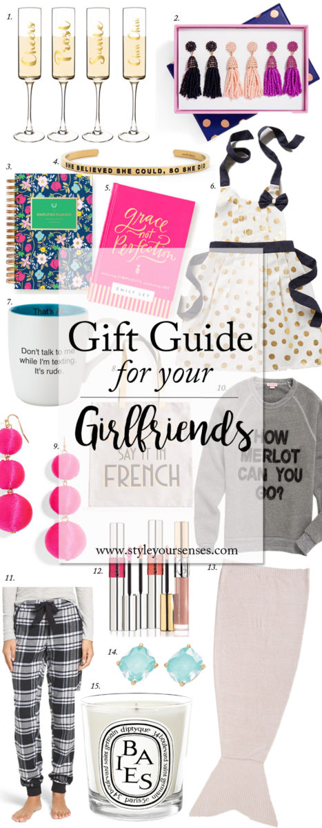 Holiday Gift Guide for Girlfriends
