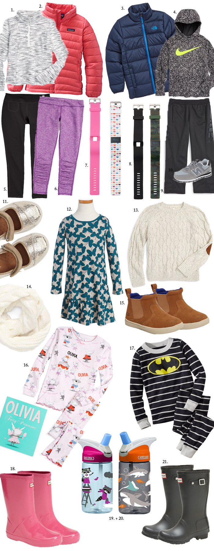 A Holiday Gift Guide with Practical Gifts for Kids