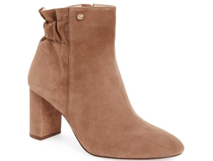Louise et Cie suede booties on sale