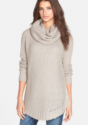 cowl neck sweater on sale