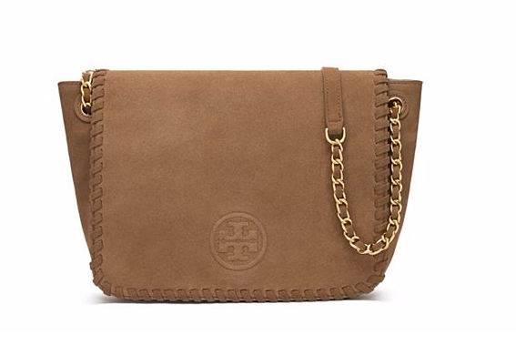 Tory Burch Marion Suede Shoulder Bag
