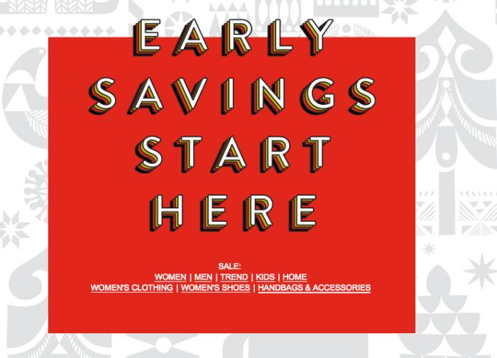 Nordstrom pre-black Friday sale