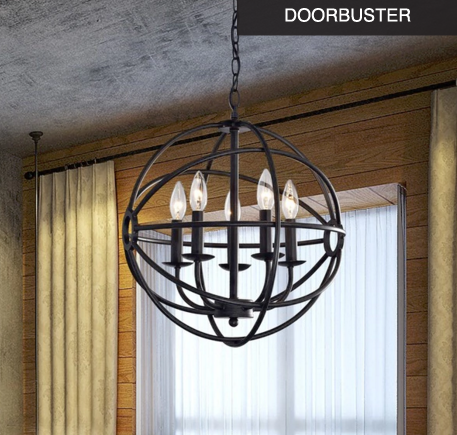 Overstock globe light