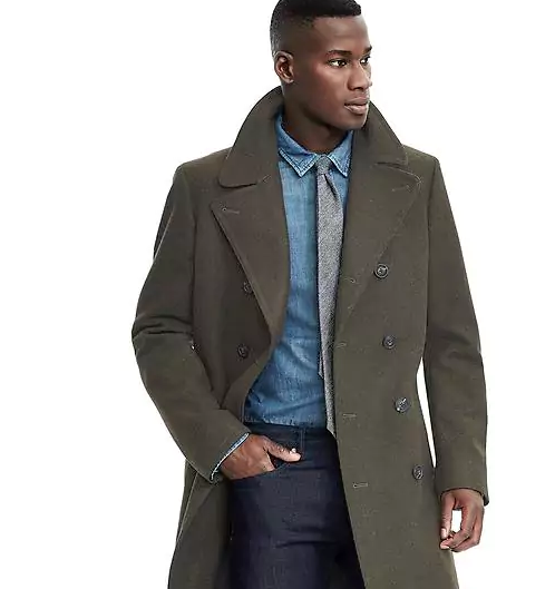 Banana Republic trench coat for men