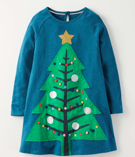 Mini Boden Christmas Dress