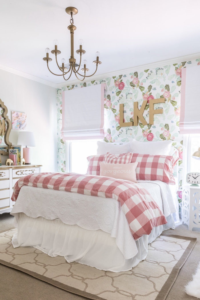 pink floral bedroom ideas floral big room home decor style your senses 16741