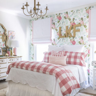 Landry's Floral and Fun Big Girl Room Reveal!
