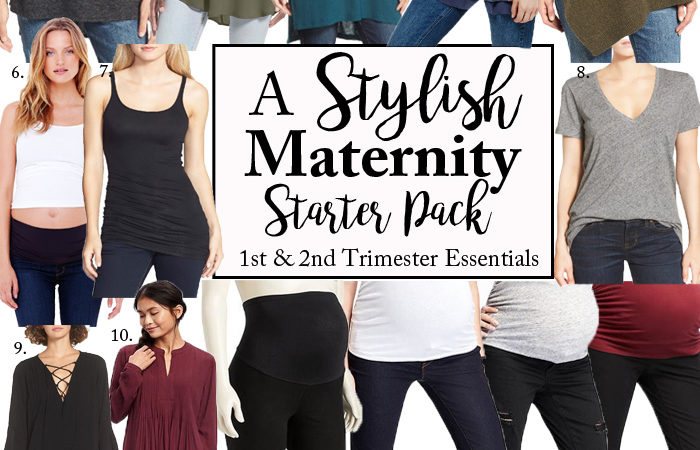 The Saturday Bump: Maternity Starter Pack