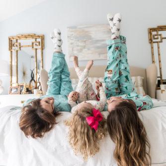 A Christmas Pajama Party!