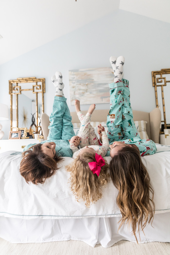 Christmas pajama party and thoughtful gift ideas
