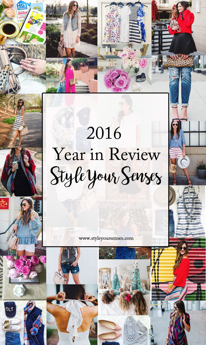 Style Your Senses 2016 Year in Review