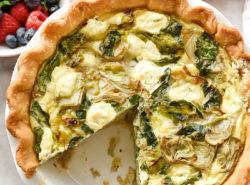 artichoke-spinach-and-goat-cheese-quiche-foodiecrush-com-040