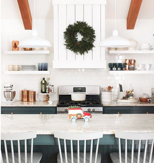 Gorgeous rustic modern kitchen