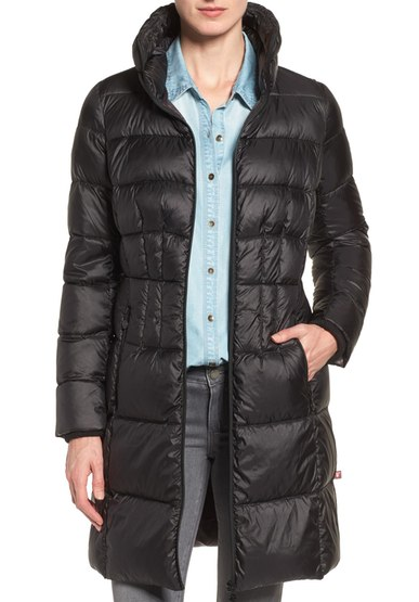 Bernardo Packable Down Coat