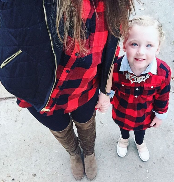 Mommy and me Holiday outfit goals