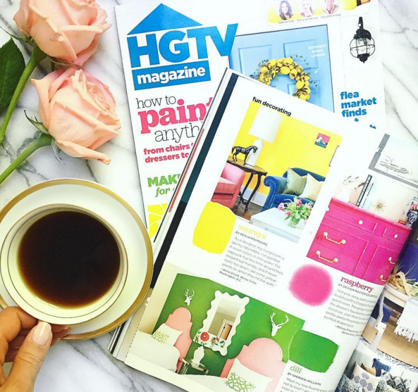 HGTV Magazine Feature