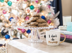 Chocolate chip cookies for Santa recipe