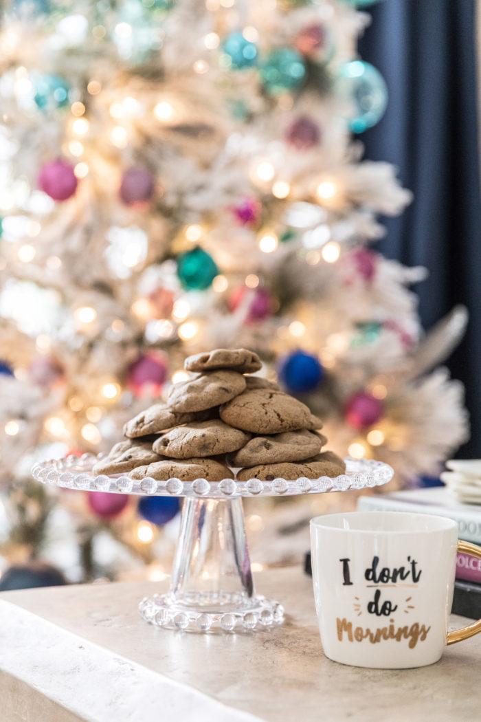 Chocolate chip cookies for Santa recipe