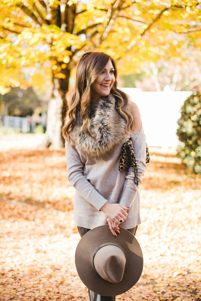 Trend To Try Cold Shoulder Sweaters Style Your Senses