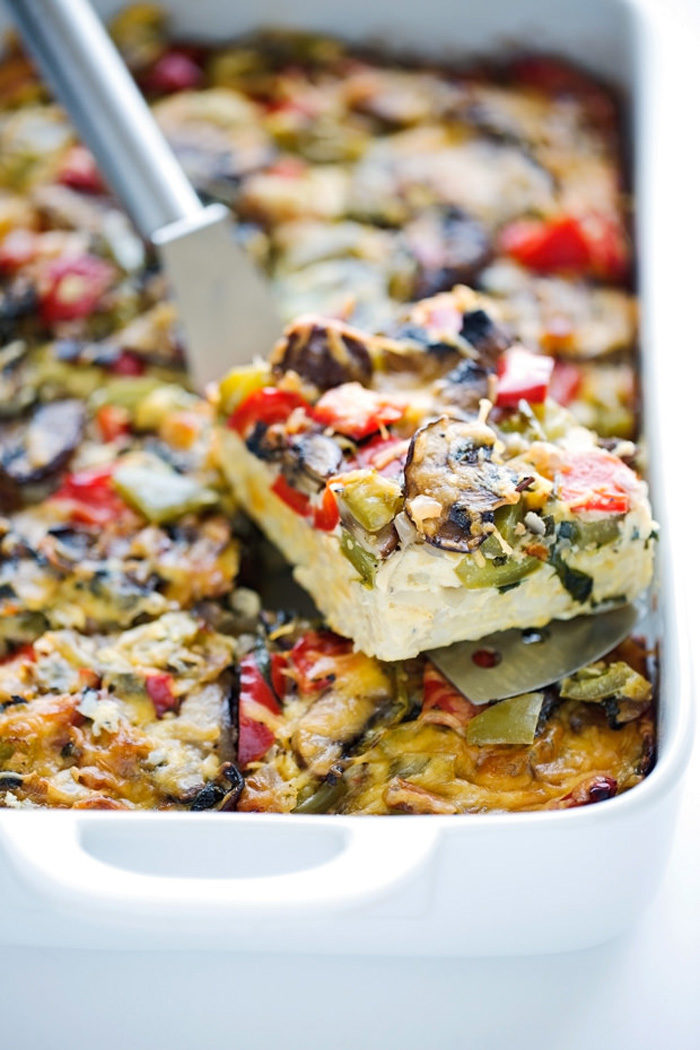 loaded-veggie-breakfast-bake - Christmas Morning Brunch Ideas for Christmas Morning featured by popular Texas lifestyle blogger, Style Your Senses