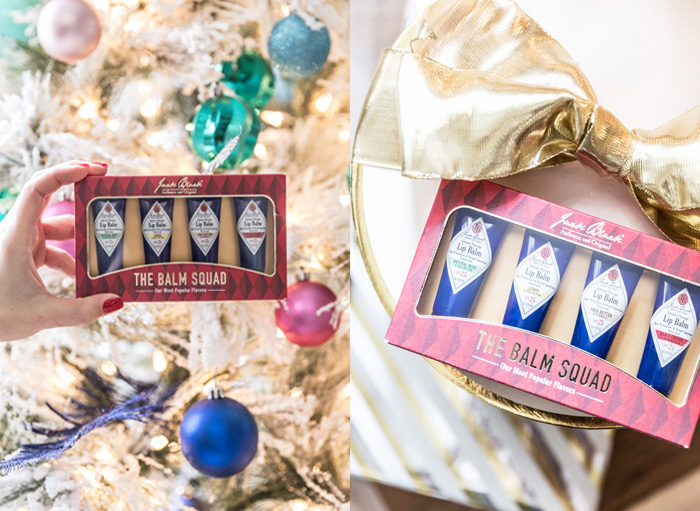 Sharing my favorite stocking stuffer ideas under $30 with Nordstrom and I love this lip balm gift set for guys