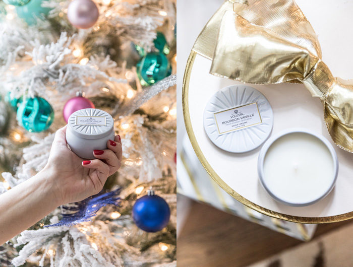 Stocking stuffers under 30 with Nordstrom. One of my favorite gifts to give is this $9 voluspa candle